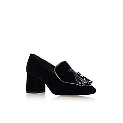 KG Kurt Geiger - Black 'Alexa' High Heel Loafers