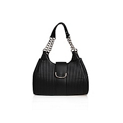 Nine West - Black 'Roxanna' shoulder bag handbag with shoulder strap