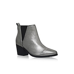 Carvela - Silver 'Slicker' low heel ankle boots