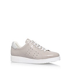 Carvela - Grey 'Latitude' flat lace up sneakers
