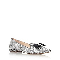 Carvela - Silver 'Major' Flat Slip On Loafers