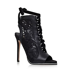 KG Kurt Geiger - Black 'Harbour' High Heel Sandals