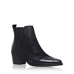 KG Kurt Geiger - Black 'Saint' High Heel Ankle Boot