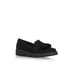 Carvela - Black 'Limbo' flat slip on loafers