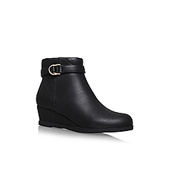 Solea - Black 'Tamzin' high heel ankle boots