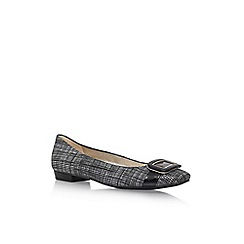 Anne Klein - Black 'Elonie6' Flat Slip On Shoe