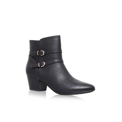 solea black 'trick' high heel ankle boots