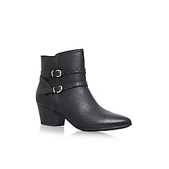 Solea - Black 'Trick' high heel ankle boots