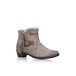 Solea - Brown 'Treat' high heel ankle boot