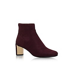 Nine West - Red 'Falup2' high heel ankle boots
