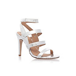 KG Kurt Geiger - Silver July' high heel sandals