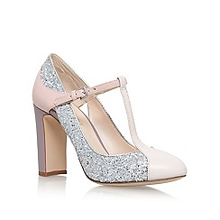 Nine West - Silver 'Viper3' high heel sandals
