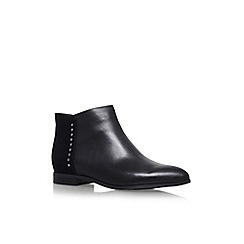 Nine West - Black 'Oleary' flat ankle boots