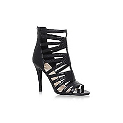 Nine West - Black 'Allclear' high heel sandals