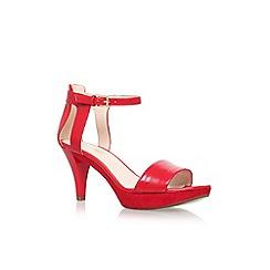 Nine West - Red 'Jodie' high heel sandals