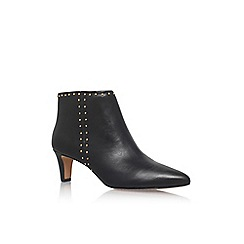 Vince Camuto - Black 'Avean' Mid Heel Ankle Boot