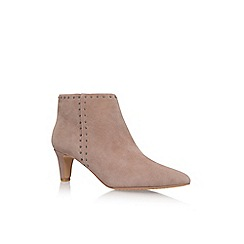 Vince Camuto - Brown 'Avean' Mid Heel Ankle Boot