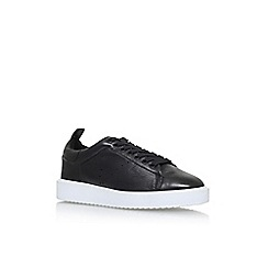 Vince Camuto - Black Emberly Flat Lace Up Sneakers