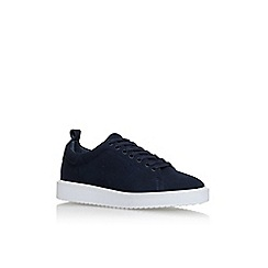 Vince Camuto - Blue 'Emberly' Flat Lace Up Sneaker
