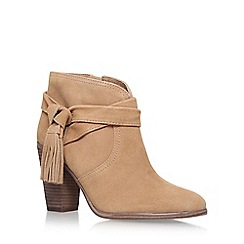 Vince Camuto - Beige 'Fianna' High Heel Ankle Boots