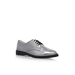 Vince Camuto - Silver 'Ciana' Flat Lace Up Brogue