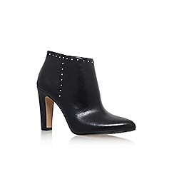 Vince Camuto - Black 'Landas' High Heel Zip Up Ankle Boot