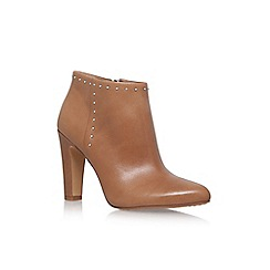 Vince Camuto - Brown 'Landas' High Heel Zip Up Ankle Boot