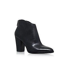 Vince Camuto - Black 'Barin' High Heel Zip Up Ankle Boot