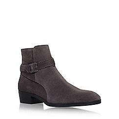 KG Kurt Geiger - Grey 'Ludlam' flat chelsea boots