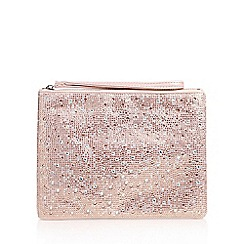Carvela - Pink 'Gaye' Clutch Bag