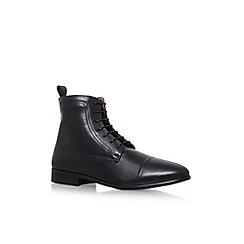 KG Kurt Geiger - Black 'Rathamore' flat ankle boots