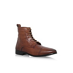 KG Kurt Geiger - Tan 'Rathmore' lace up boot