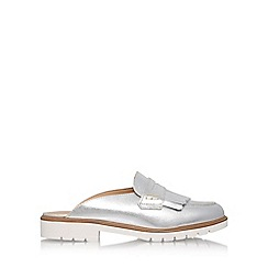 KG Kurt Geiger - Silver 'Komit' low heel sandals