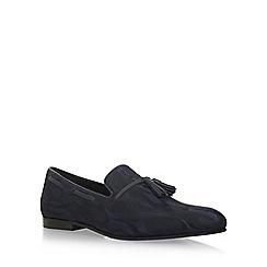 KG Kurt Geiger - Blue 'Joachim' flat slip on loafers