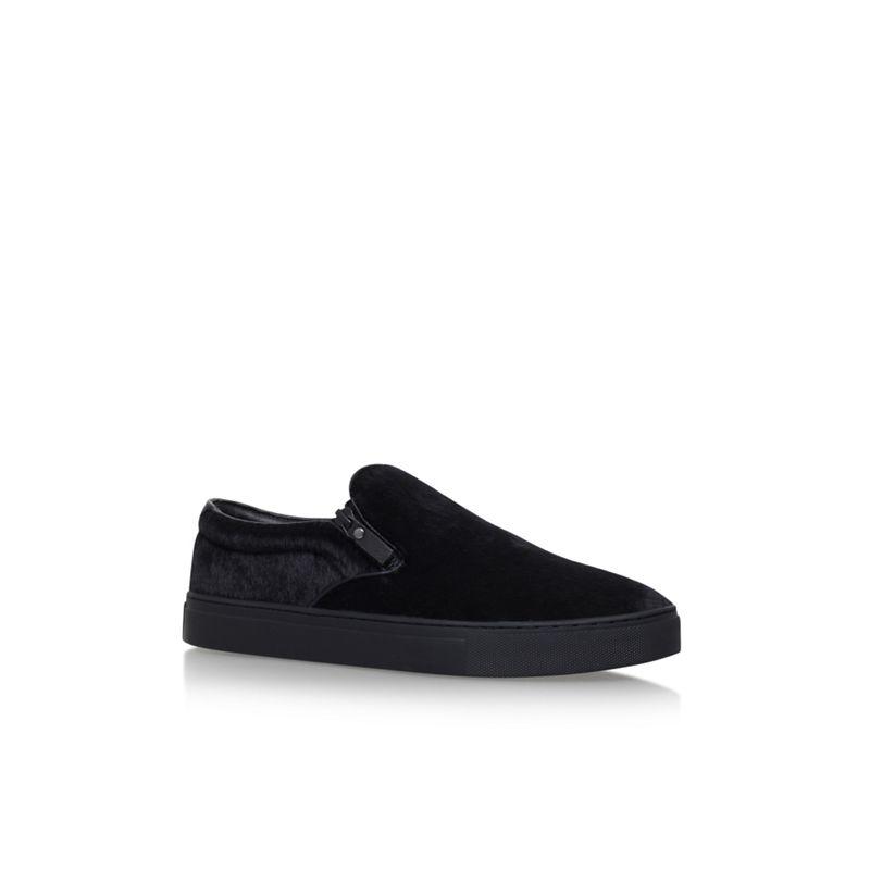 KG Kurt Geiger Black Other 'Andy' flat slip on sneakers