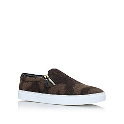 KG Kurt Geiger - Green 'Andy' flat slip on sneakers