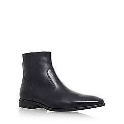 KG Kurt Geiger - Black 'Boyce' Flat Chelsea Boots