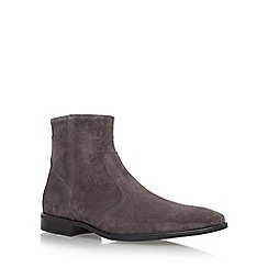 KG Kurt Geiger - Grey 'Boyce' Flat Chelsea Boots
