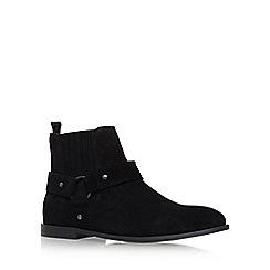 KG Kurt Geiger - Black 'Jackson' Flat Slip On Boots