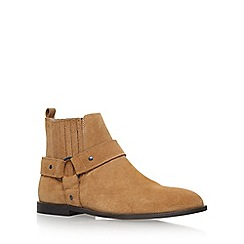 KG Kurt Geiger - Brown 'Jackson' Flat Slip On Boots