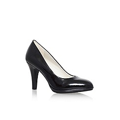 Anne Klein - Black 'Lolana' high heel court shoes