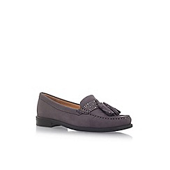 Carvela Comfort - Grey 'Cosy' flat loafers