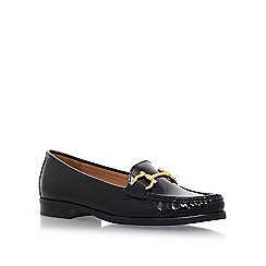 Carvela Comfort - Black 'Click' flat loafers