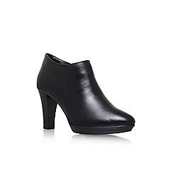 Carvela Comfort - Black 'Roomie' high heel ankle boot
