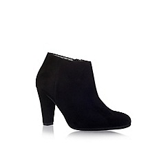Carvela Comfort - Black 'Ross' high heel ankle boots