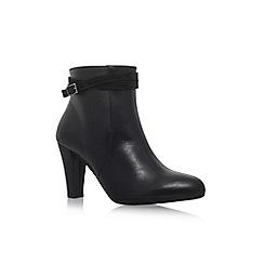 Carvela Comfort - Black 'Rolo' high heel ankle boot