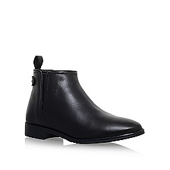 Carvela Comfort - Black 'Rex' flat ankle boot