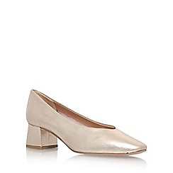 Carvela - Gold 'Antidote' High Heel Court Shoes