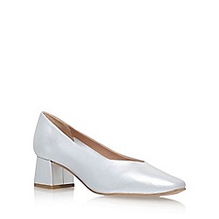 Carvela - Silver 'Antidote' High Heel Court Shoes