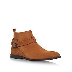 KG Kurt Geiger - Brown 'Lester' flat boots